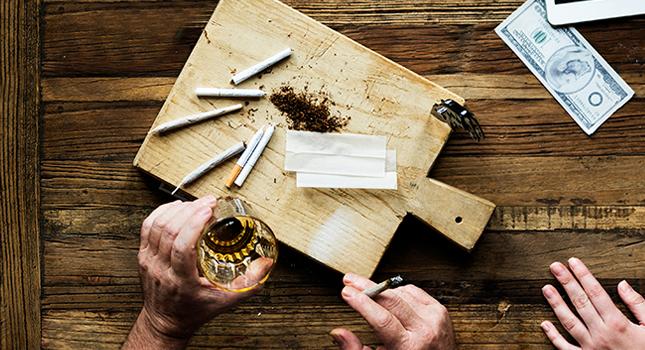 Crossfaden; De gevaren van het mengen van alcohol en marihuana